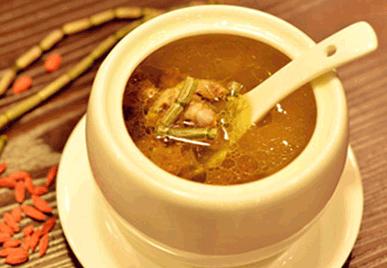 铁皮石斛枫斗炖汤