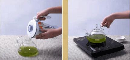 铁皮石斛鲜条榨汁步骤四操作图示