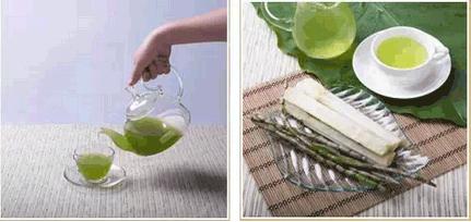 铁皮石斛鲜条榨汁步骤五步骤留示意图