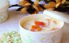 铁皮石斛木瓜鲜奶