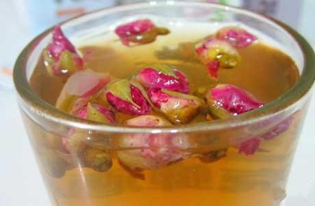 铁皮石斛玫瑰花茶