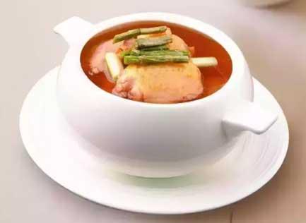 铁皮石斛煲鸡汤图片