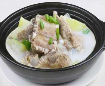 铁皮石斛冬瓜瘦肉汤