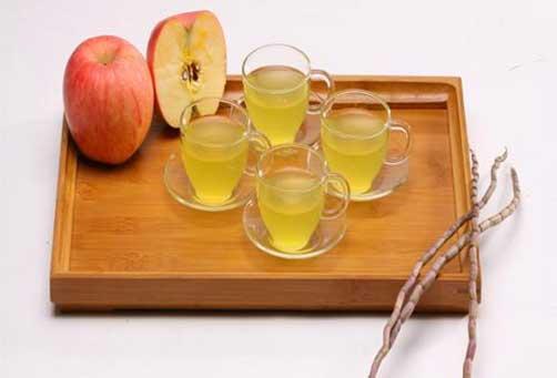 铁皮石斛与水果榨汁