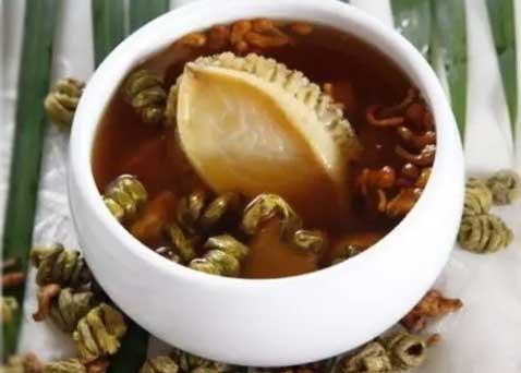 洋参石斛鲍鱼汤图片