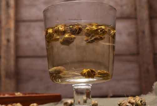 铁皮石斛泡水喝图片