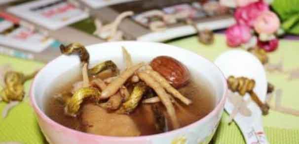 金钗石斛食物搭配煲汤图片