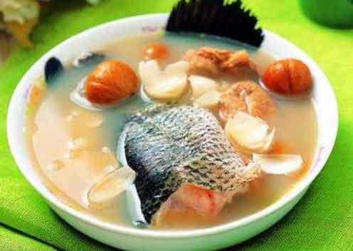 山竹石斛生鱼汤图片