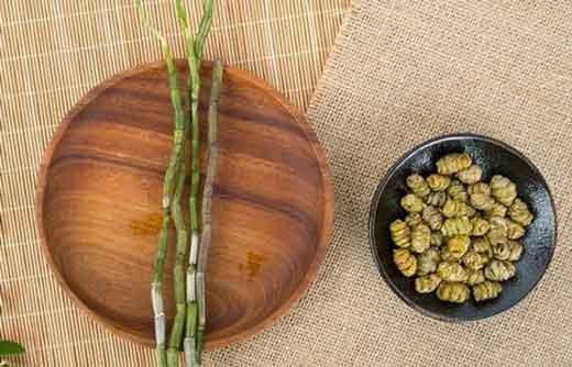 铁皮石斛鲜条和枫斗图片
