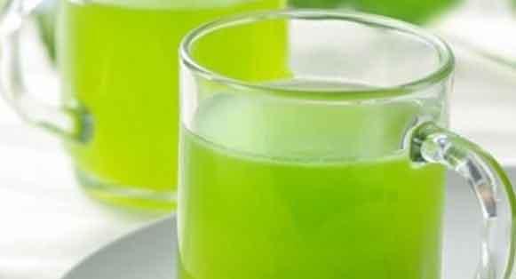 铁皮石斛榨汁图片