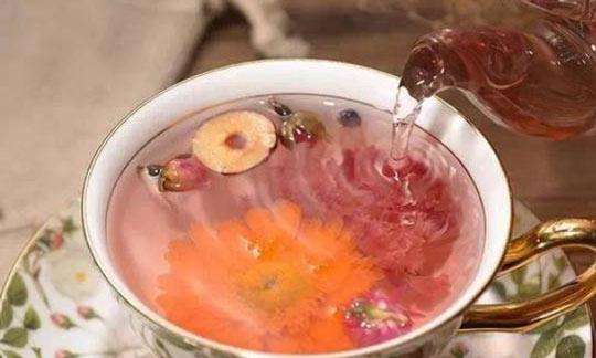 黑枸杞红枣茶的泡法图片