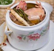铁皮石斛红参炖汤