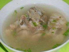 骨头石斛太子参煲汤