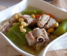 苦瓜黄豆石斛排骨汤