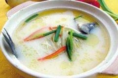 铁皮石斛煮鲫鱼汤