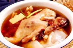 铁皮石斛炖番鸭汤