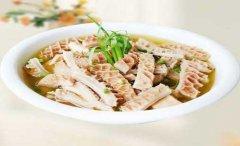 铁皮石斛牛肚汤