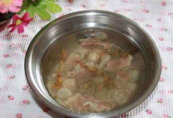 西洋参铁皮石斛瘦肉汤