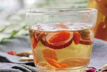 石斛罗汉果枸杞茶