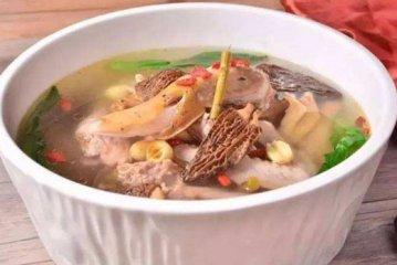 羊肚菌石斛猪骨汤