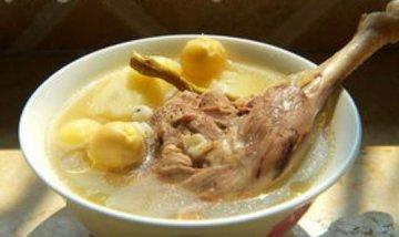 老鸭石斛汤